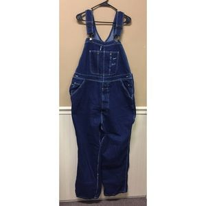 RK Rural King Brand Jeans Overalls Size 42 x 30